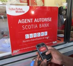 Mobile money agent in Haiti. Photo by Erin B. Taylor